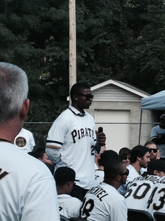Big time now... Former Power outfielder Gregory Polanco (2012).